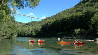 Canoe sur le tarn-Evo2Millau