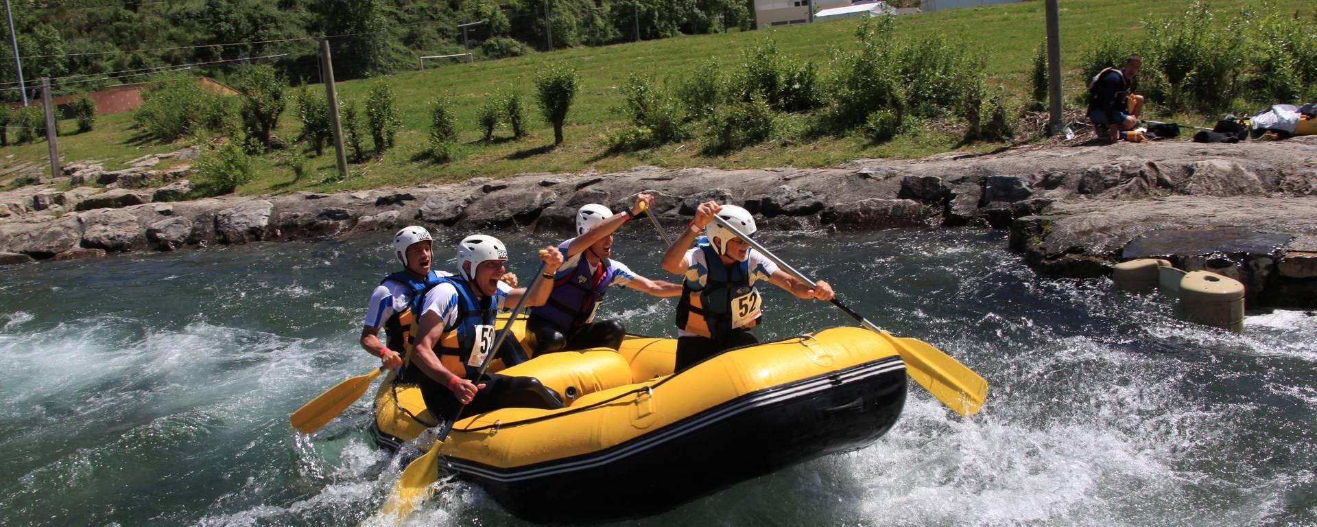 Pour + de sensations, essayez le Rafting!