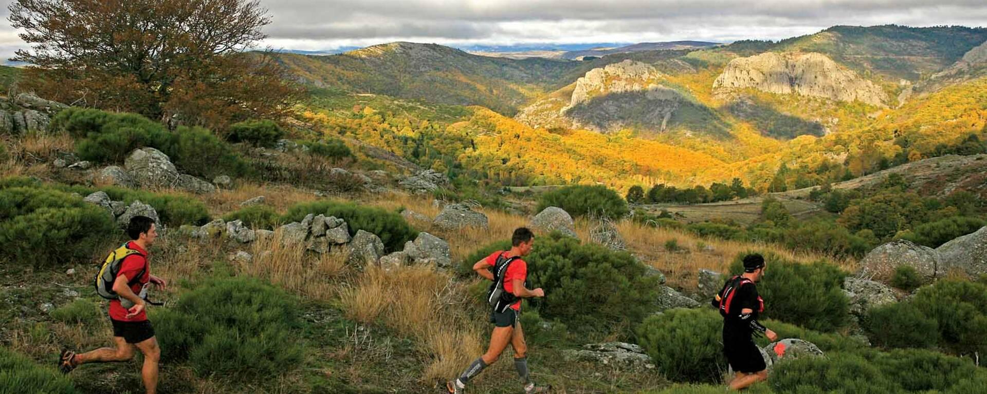 Séjour trail pour groupe à Millau Grands Causses