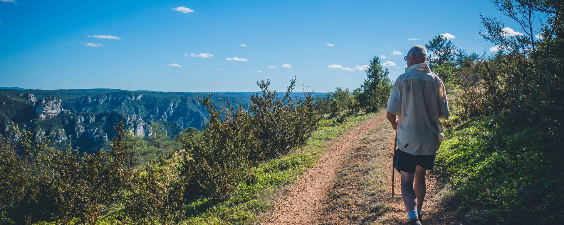 Randonnée en itinérance dans les Gorges du Tarn