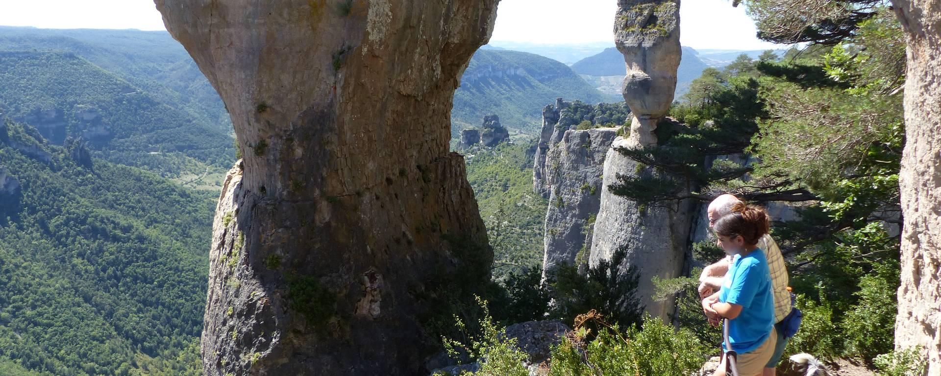 Randonnée dans les Gorges de la Jonte