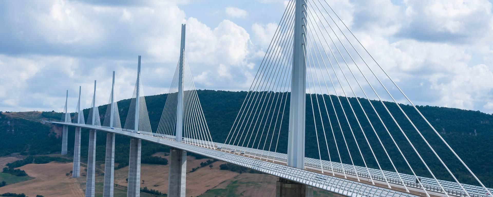 Circuler sur le Viaduc de Millau