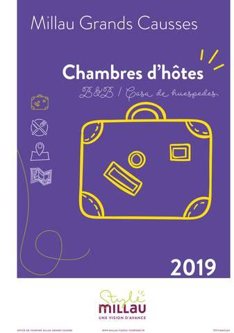 Chambres d'hôtes 2019