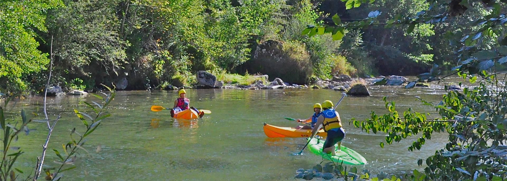 Après-midi détente sur la rivière