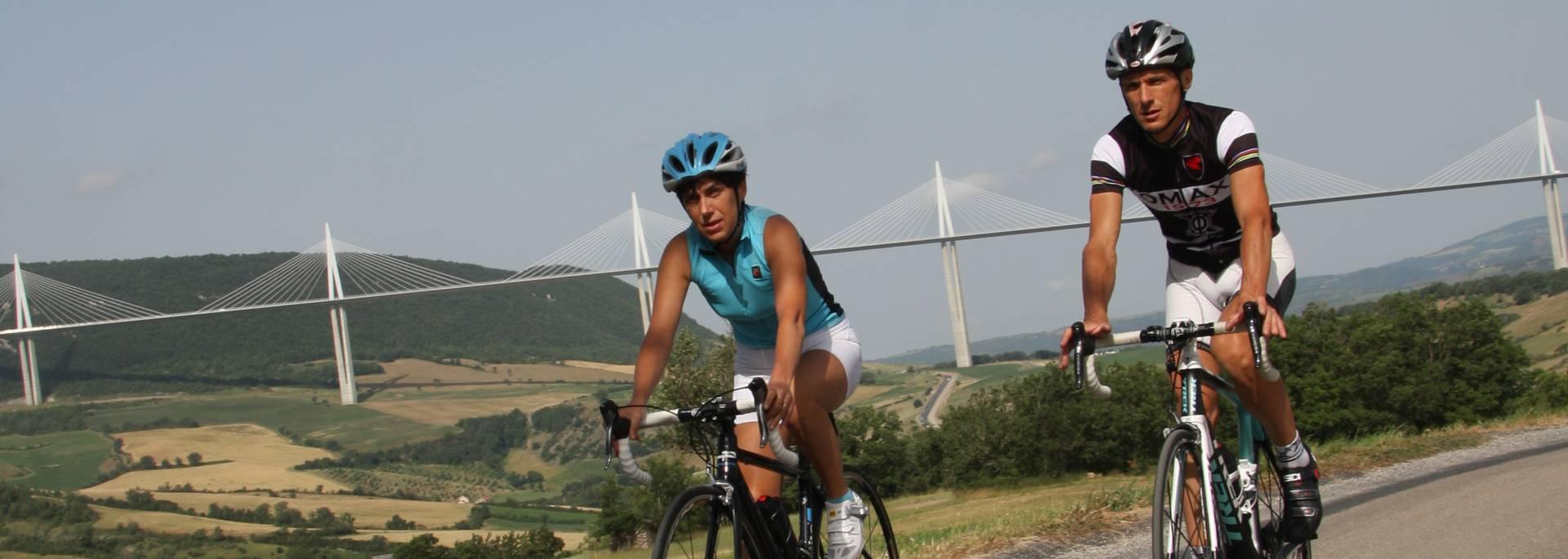 12 circuits cyclo tourisme autour de Millau