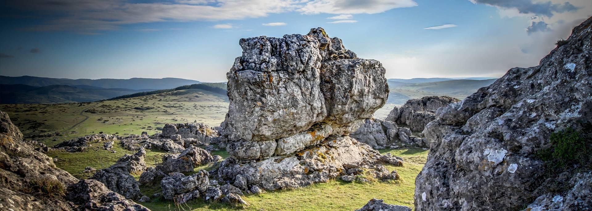 Chaos rocheux sur le Larzac