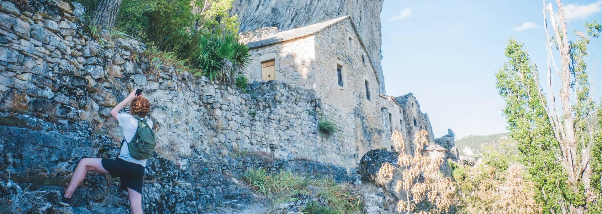 Eglazines, corniches des gorges du Tarn
