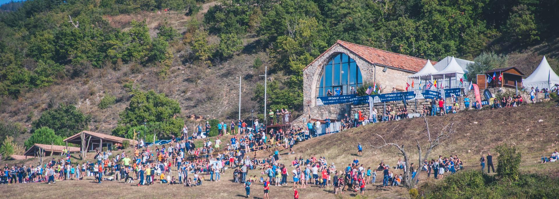 Le coeur du Festival : le village des Templiers au porte de la Ville de Millau.