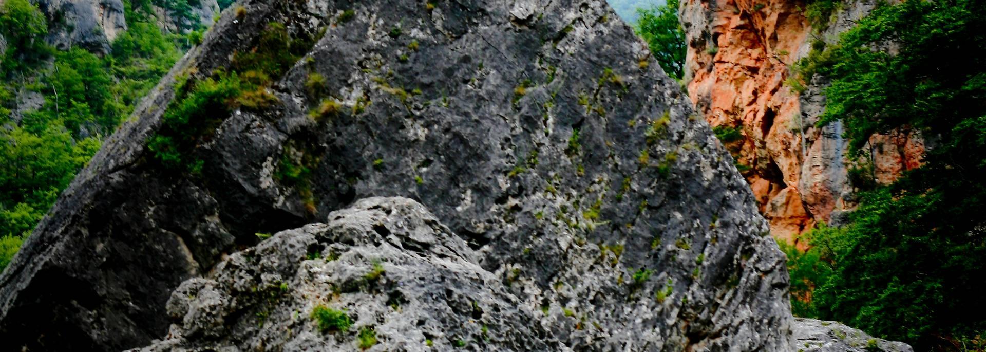 Escalade au Pas de soucy Gorges du Tarn