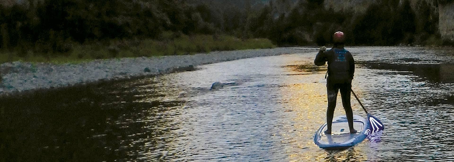 Paddle de nuit dans les Gorges du Tarn