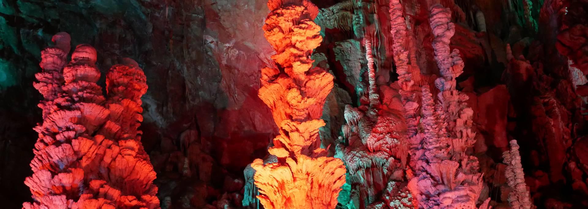 La grotte de l'Aven Armand