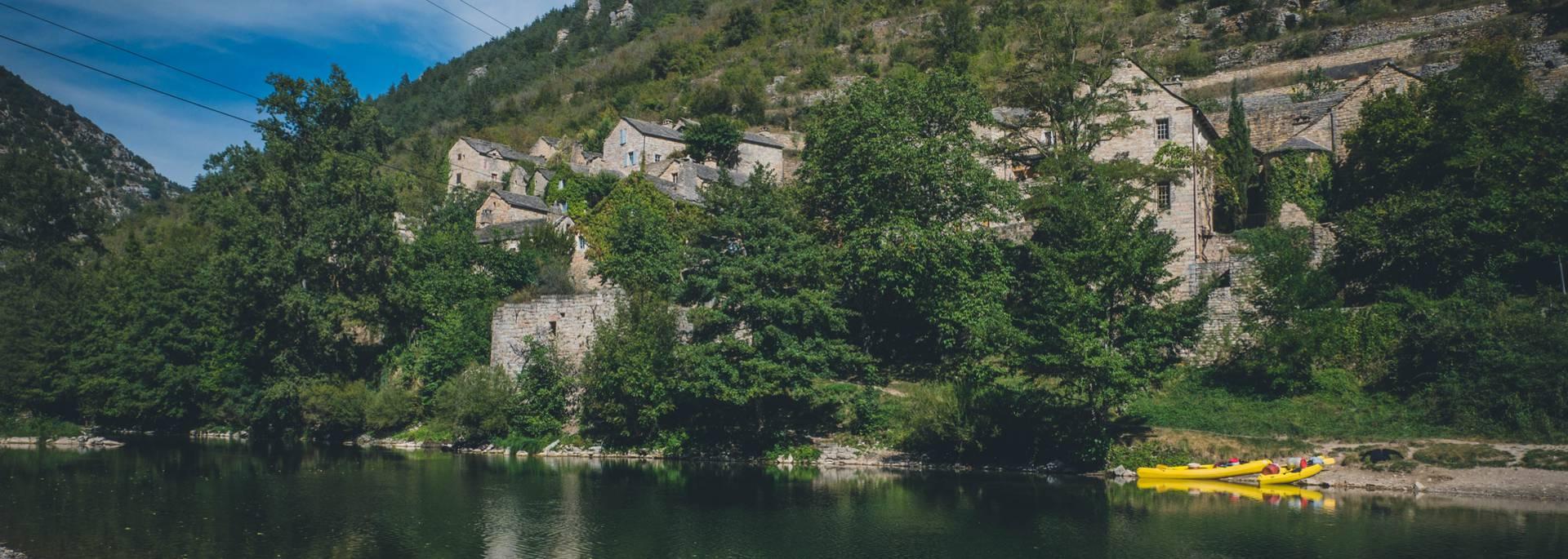 Hauterives, gorges du Tarn