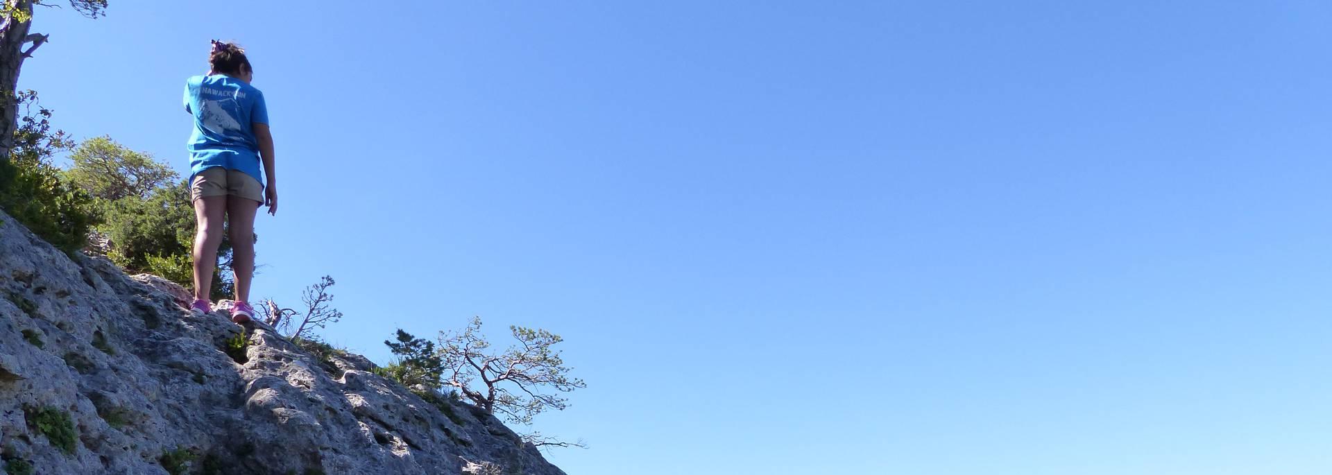 Randonnée des corniches de la Jonte