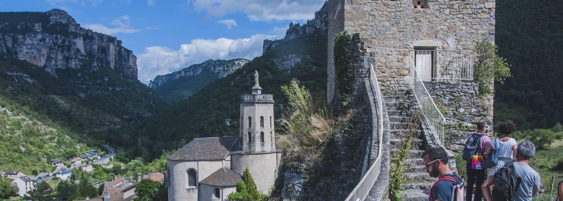 Tour Carrée de Peyreleau