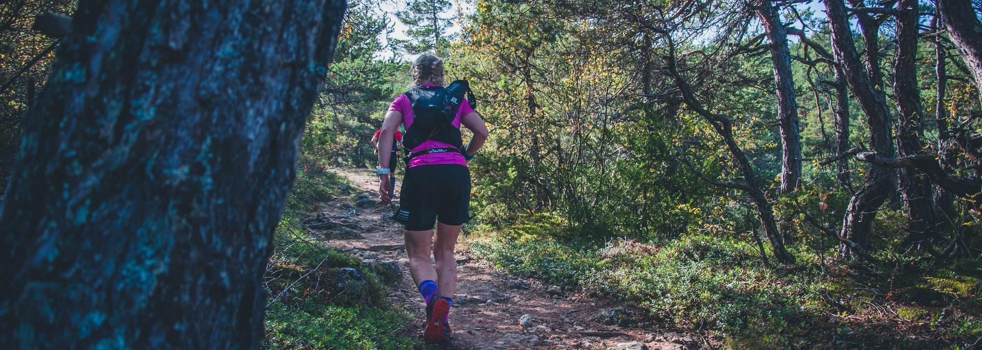 Trail à Millau