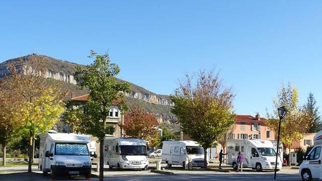 Les aires de stationnement camping-cars en aveyron