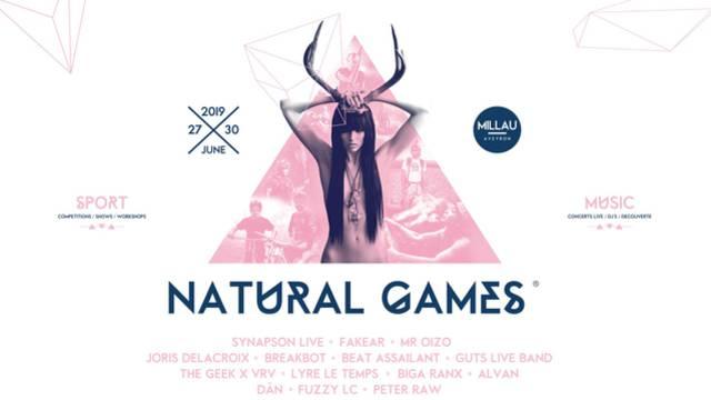 Réservez votre billet pour la soirée payante des Naturals Games