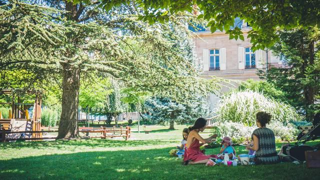 Jardin de la Mairie, Millau