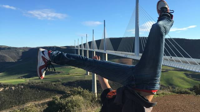 Belvédère sur le Viaduc de Millau