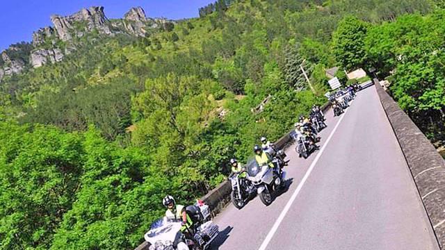 Millau – Gorges du Tarn à moto