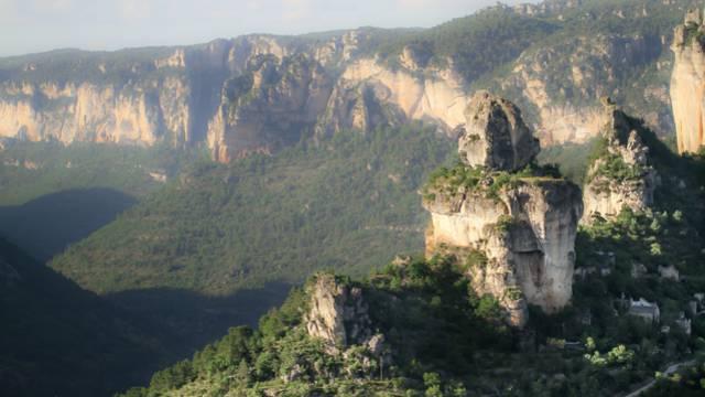 Confluence des Gorges du Tarn et de la Jonte