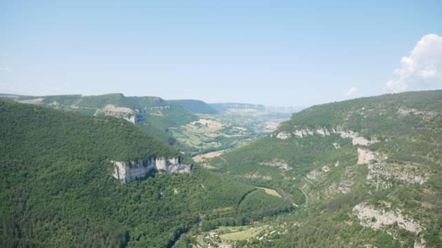 Panorama de la via ferrata du Boffi