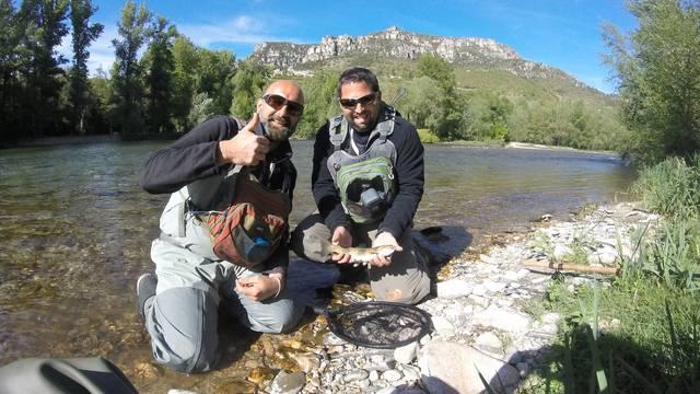 Pêche dans le Tarn