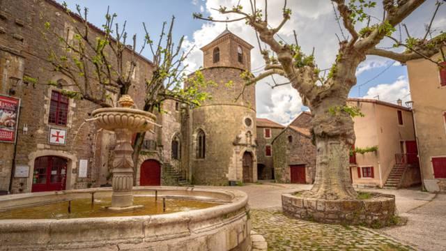 Sainte-eulalie de cernon, commanderie templière et hospitalière du larzac