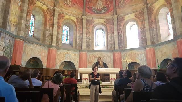 Visite guidée à Notre Dame de l'Espinasse
