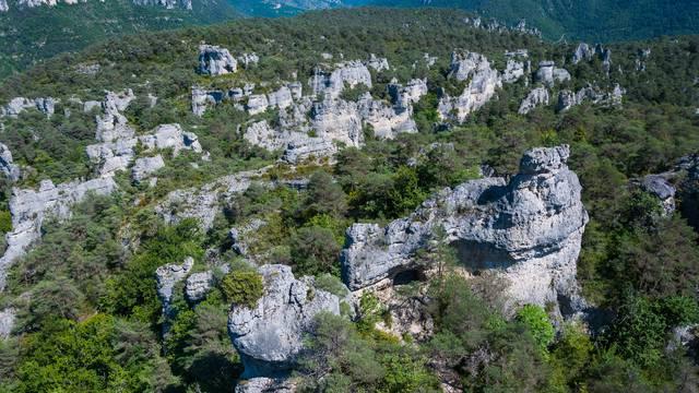 Chaos rocheux de Montpellier le Vieux