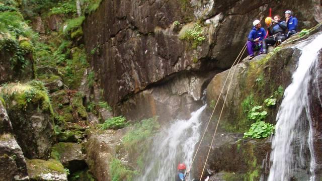 Canyoning et activités d'eaux vives