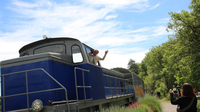 Le train touristique : Embarquez à bord du « Larzac express »