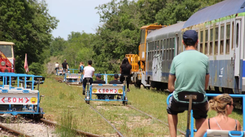 Le Vélo Rail du Larzac