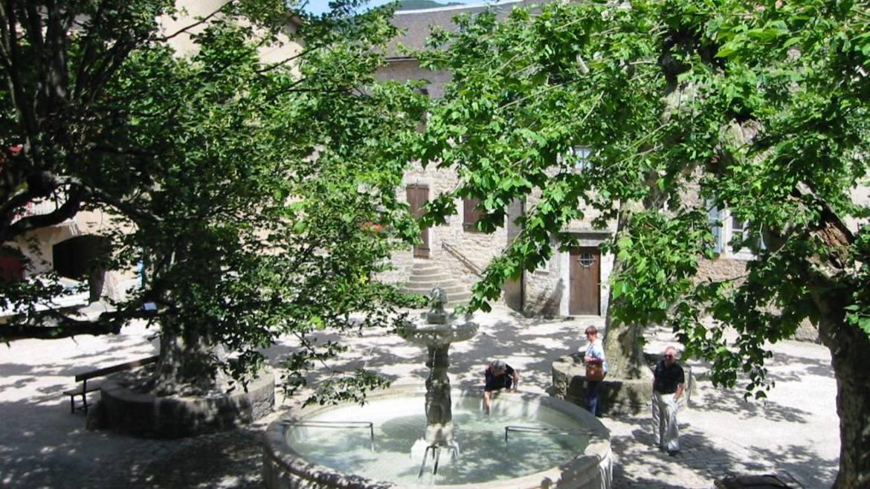 Le bourg médiéval de Sainte-Eulalie