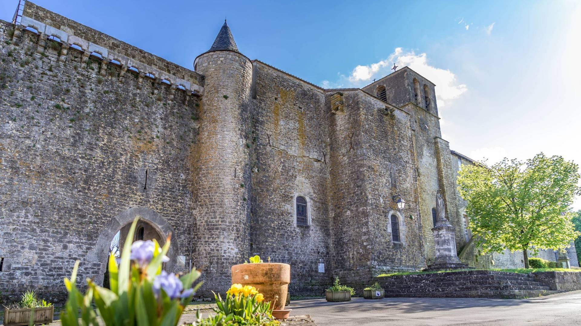 Fort de Saint Jean d'Alcas - Circuit Templier Hospitalier du Larzac