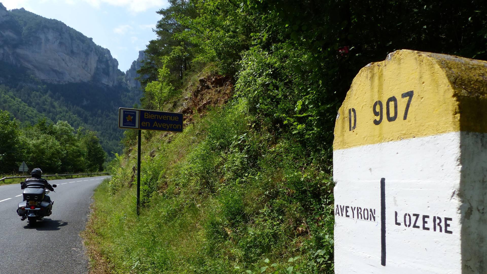 Des routes taillées pour les motards