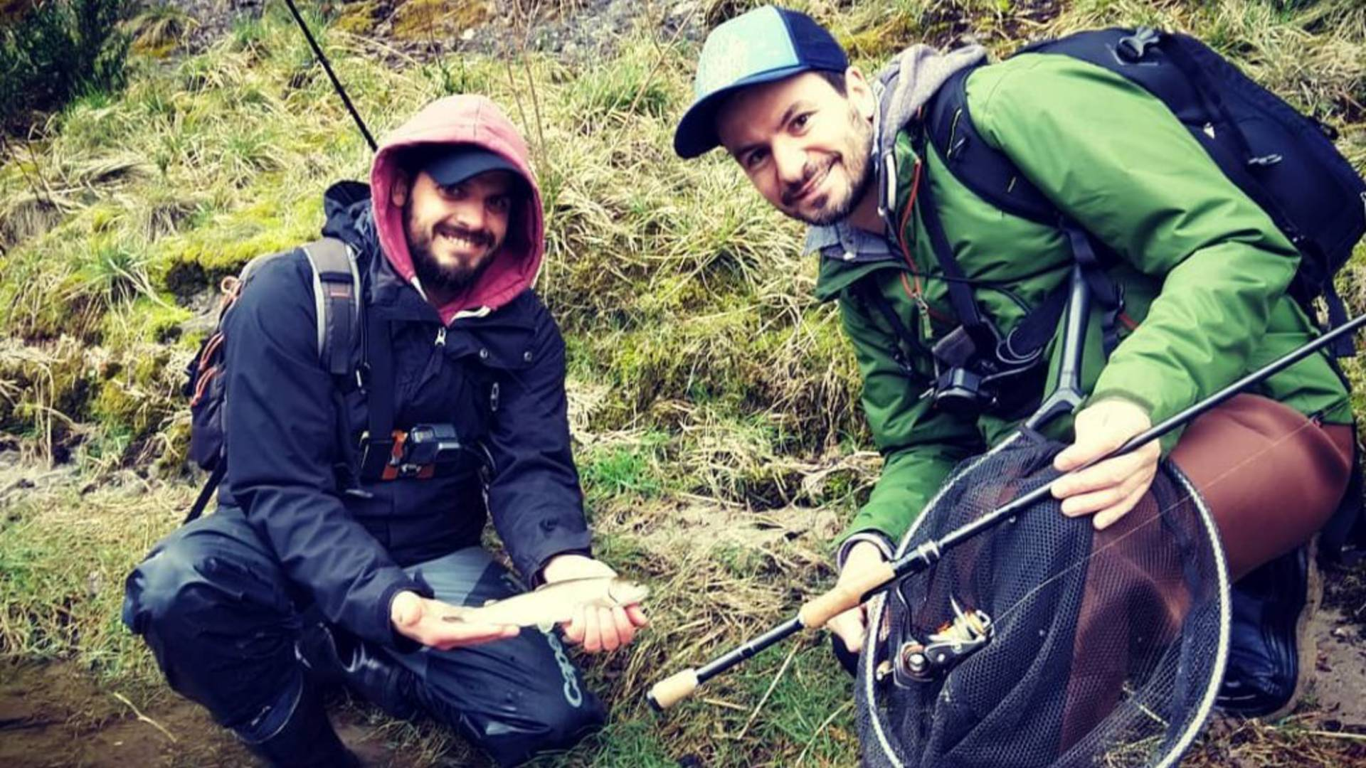 Partie de pêche en rivière Tarn autour de Millau©Scarnafishing