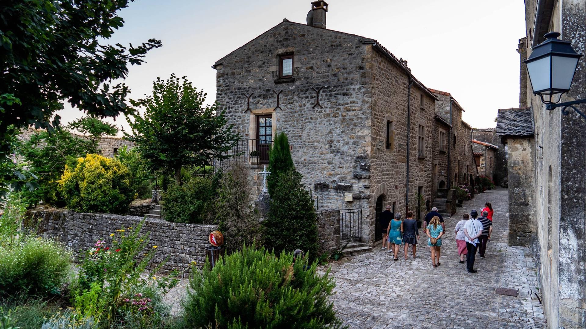 Ruelle du Fort de Saint Jean d'Alcas ©AlexHumbert