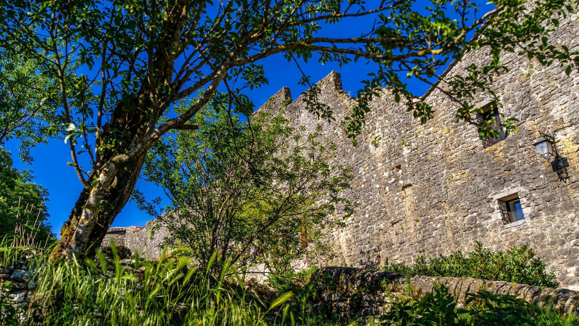 Fort de Saint Jean d'Alcas - Circuit Templier Hospitalier du Larzac - Aveyron