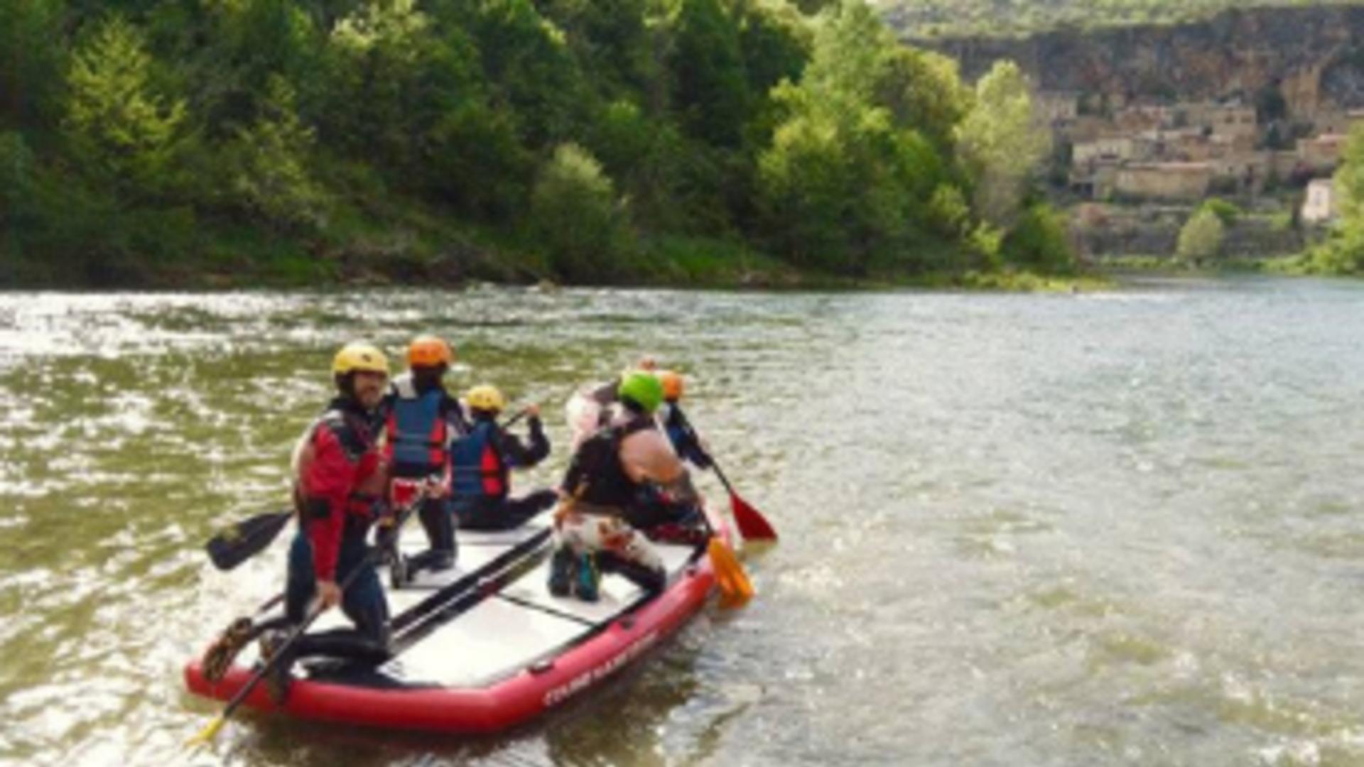 Paddle Géant descentes de rivière - Canoescapade