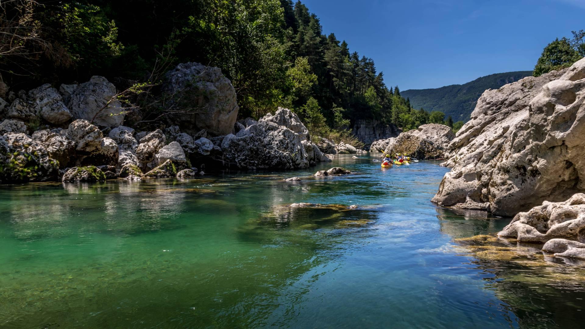 Paysage des Gorges du Tarn