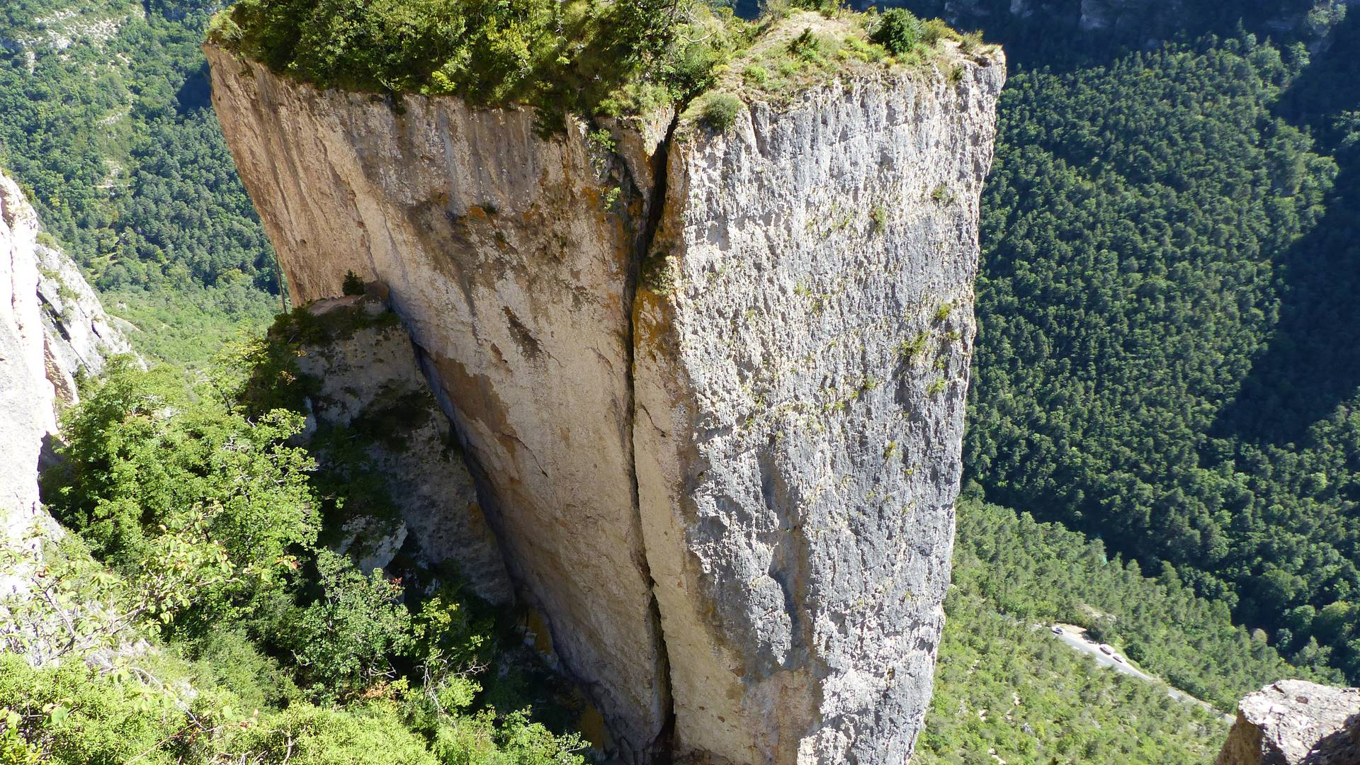 Impressionnante vue des Gorges du Tarn