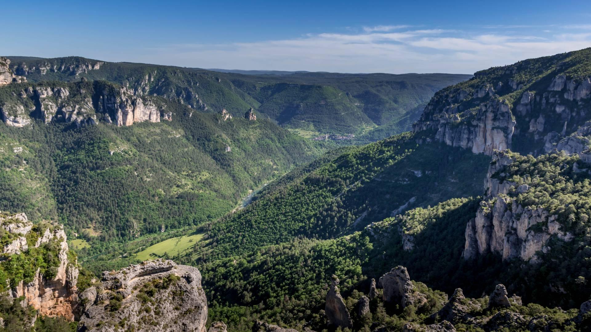Randonnée Villages troglodytiques des Gorges du Tarn