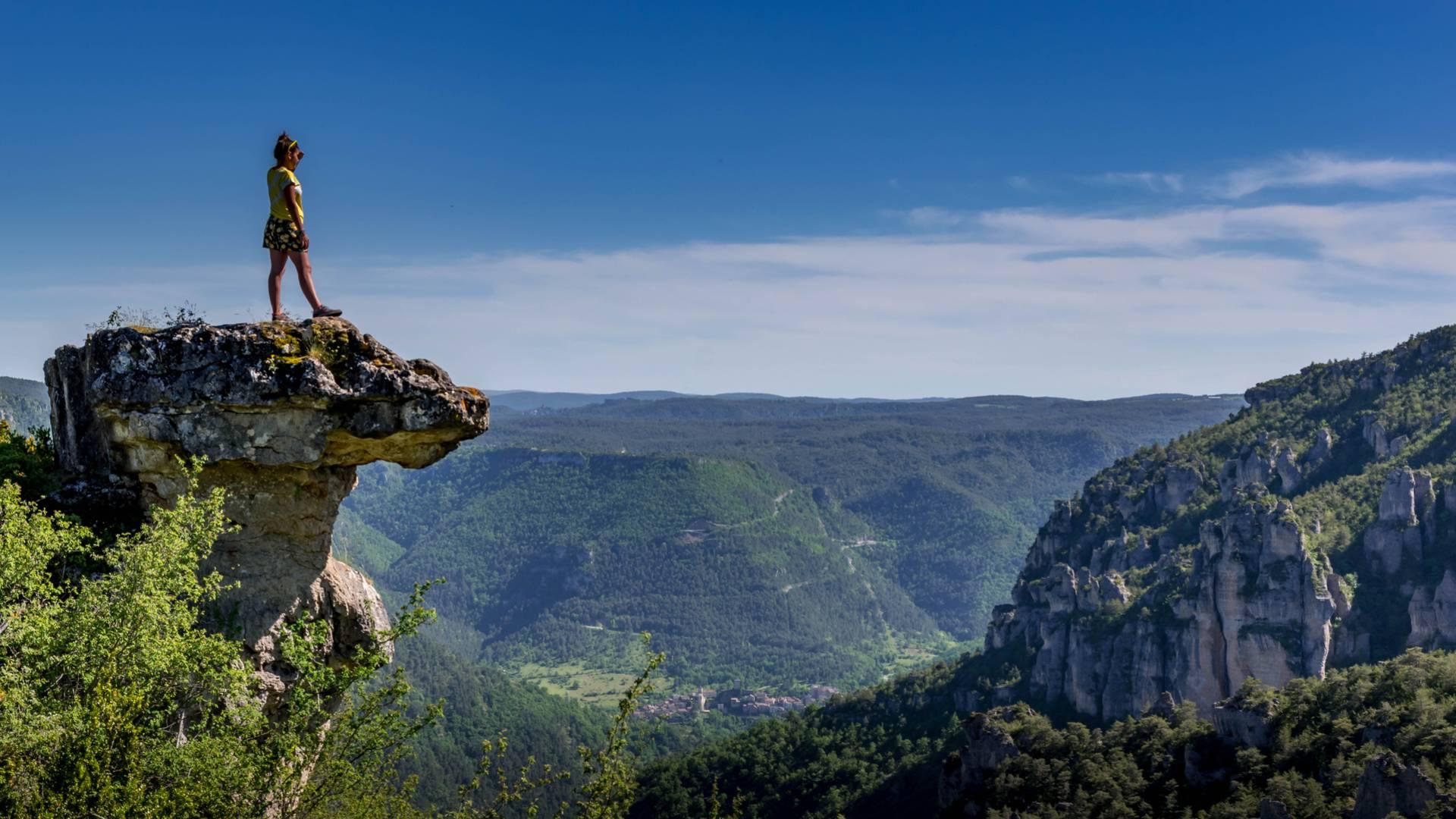 Randonnée Villages troglodytiques des Gorges du Tarn  - tabulaire