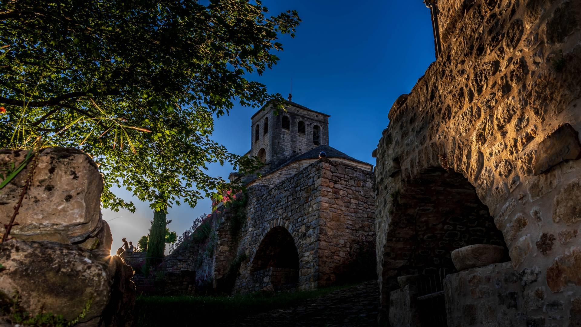 Randonnée Villages troglodytiques des Gorges du Tarn - le village Liaucous
