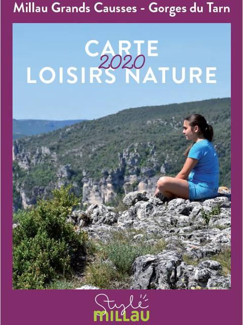Carte Loisirs Nature 2020