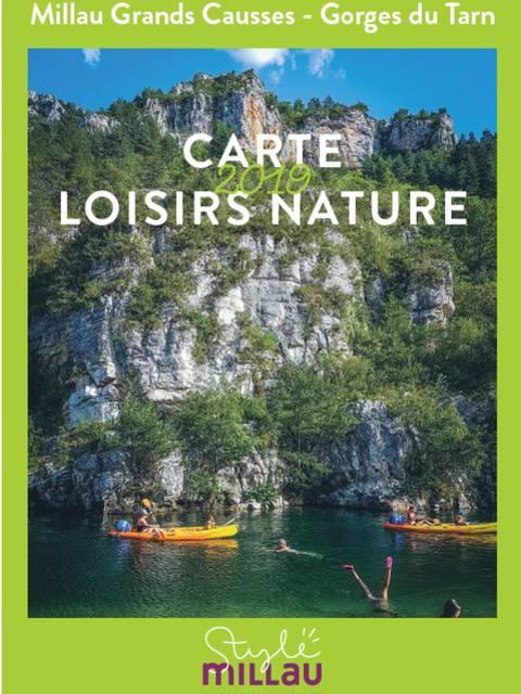Carte Loisirs Nature 2019