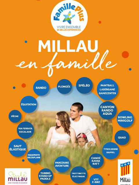 Millau en famille : ma carte