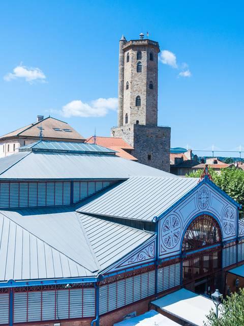 Le centre historique de Millau