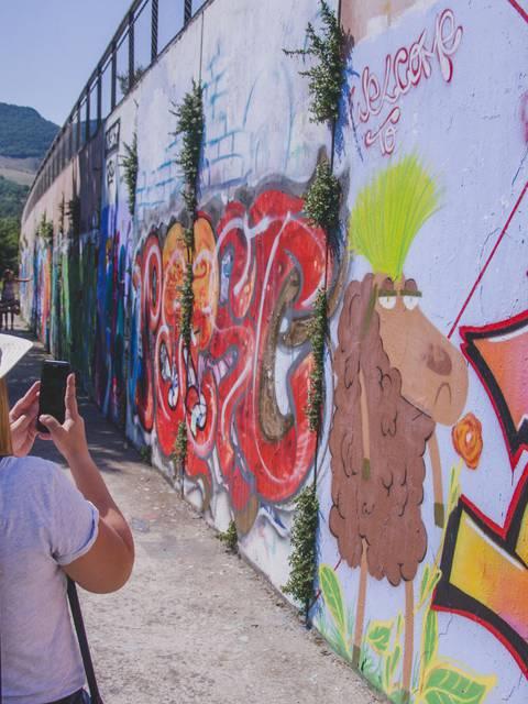 Millau Street Art pratique et visite